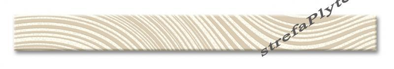 Listwa ceramiczna Malaga Krem 4x40