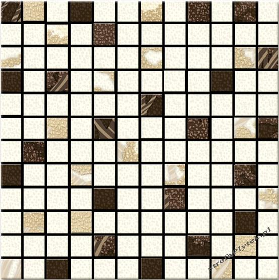 Mozaika Malaga mix 25x25
